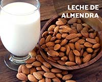 Cómo preparar leche de almendra?