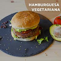 Receta con quinoa: Hamburguesa Vegetariana