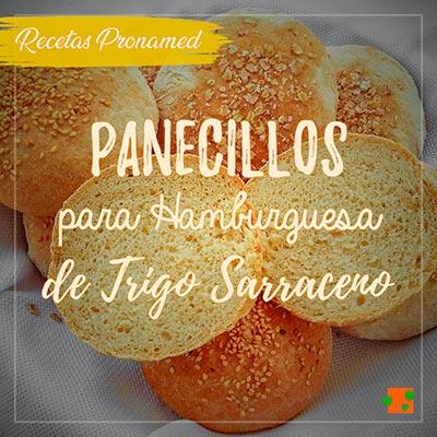 Panecillos de hamburguesa de trigo sarraceno
