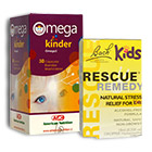 Pack Omega Kinder y Rescue Remedy Kids