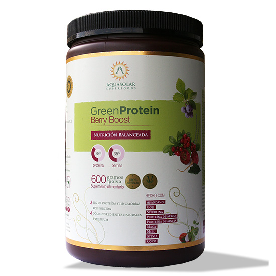 Green Protein Berry Boost