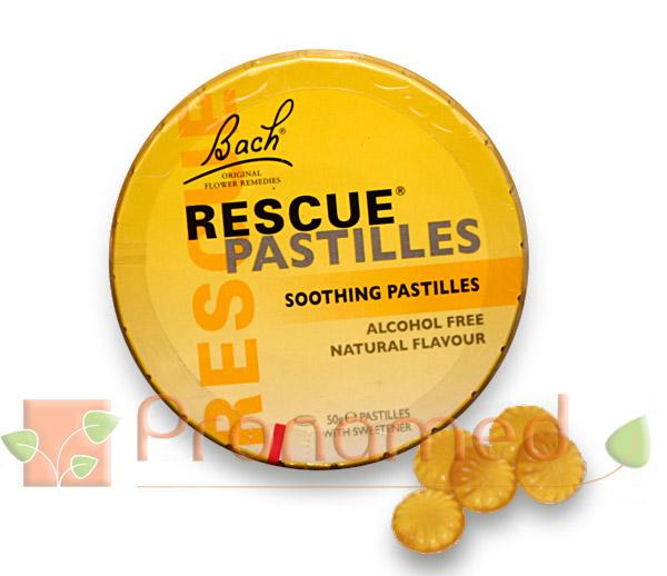 Rescue Remedy En Pastillas Flores De Bach